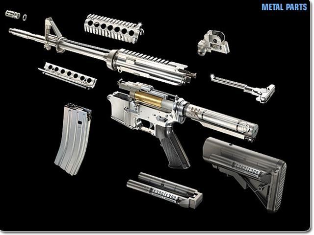 7-е фото модель автомата m4a1 carbine (by-032)