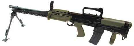 ARES L86 A2 LSW`s in stock at Dingodogs Airsoft