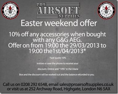 Easter Offer