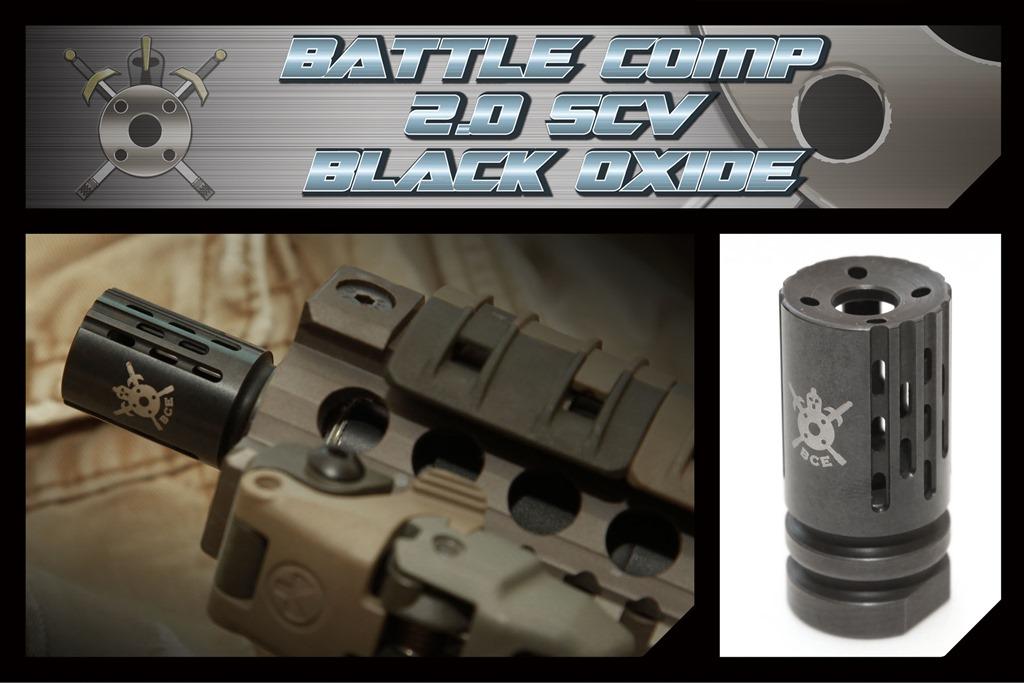 PTS: Battlecomp compensator muzzle devices  2.0blackOxideAD