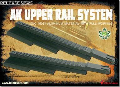 PK-213 Upper Rail System, dated August 2, 2013