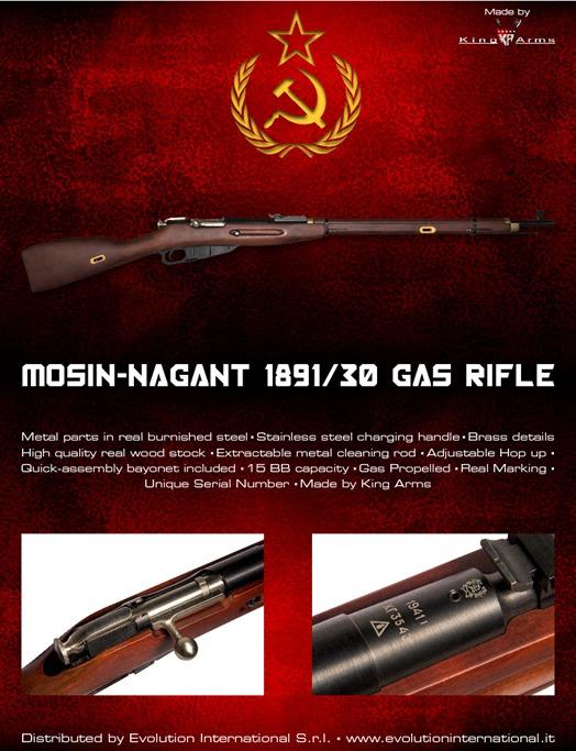King Arms: Mosin-Nagant 1891/30 Rifle (Gas) Locandina_mosin-03