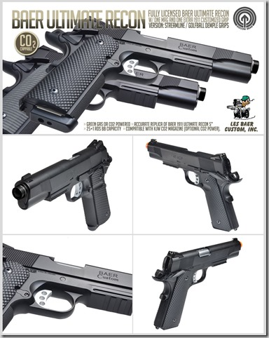 """Socom Gear """"Baer ultimate recon licensed 1911"""" CO2 power  Unnamed-3"""