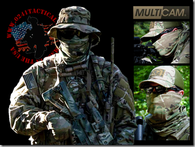 Multicam Neck Gaiter Add