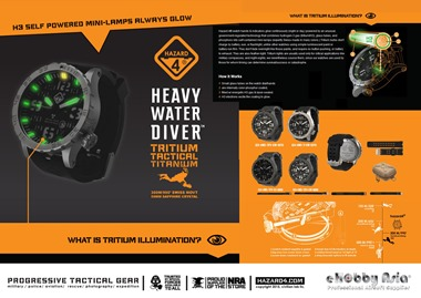 Hazard 4 HeavyWater Diver Titanium Watch - News