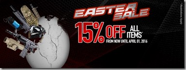 RWA Easter Sale