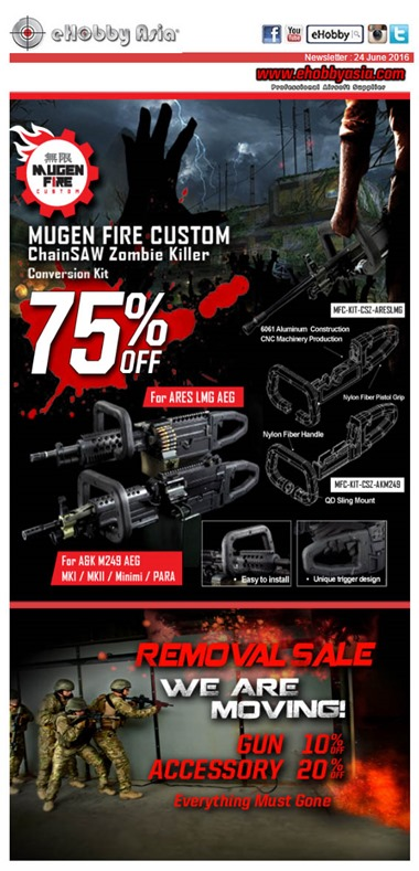 eHobby News - MFC 75% Off_Removal Sale
