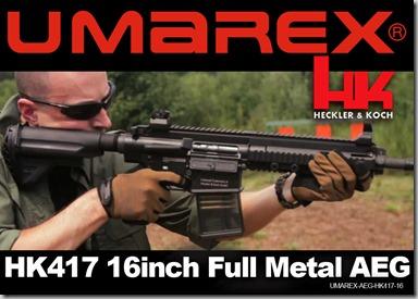 113 - UMAREX-AEG-HK417-16