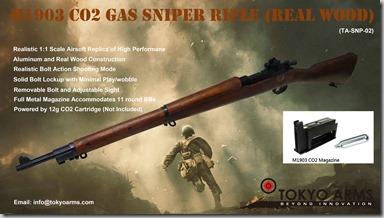 M1903 CO2 Rifle