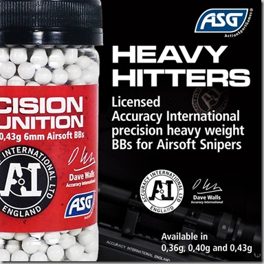 AI Accuracy InternationalMedia packageHeavy weight BBsBanners