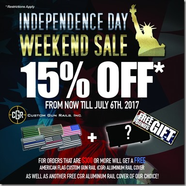 Independence Weekend Sale 2017