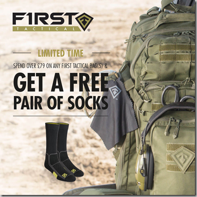 First Tactical Bags Socks Promo Instagram (1)