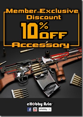 Member Exclusive Discount 10% Off -Accessory - Landing Page