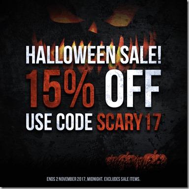 Halloween Sale 2017 Instagram