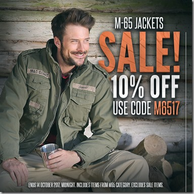 M65 Jackets Sale 2017 Instagram