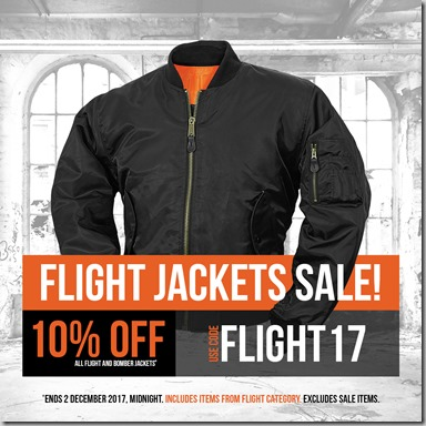 Flight Jackets Sale 2017 Instagram