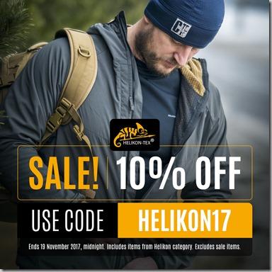 Helikon Sale 2017 Instagram