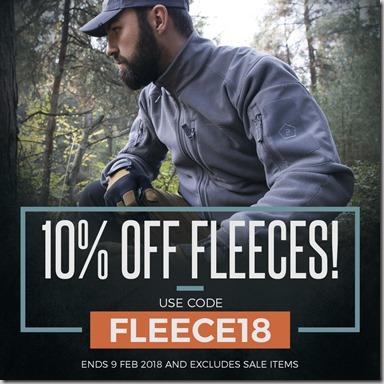 Fleeces Sale 2018 Instagram