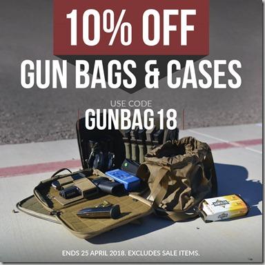 Gun Bags Sale 2018 Instagram